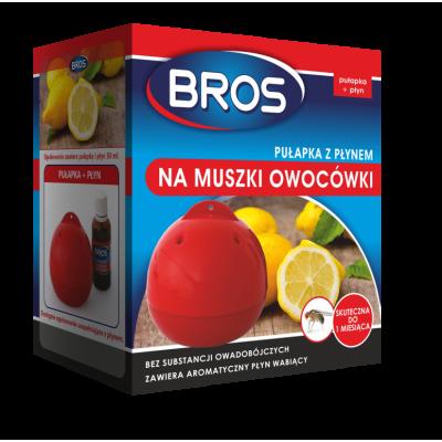 Pułapka z płynem na muszki owocówki 30 ml