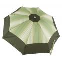 Parasol damski z drewnianą rączką automatycznie otwierany średnica 99 cm