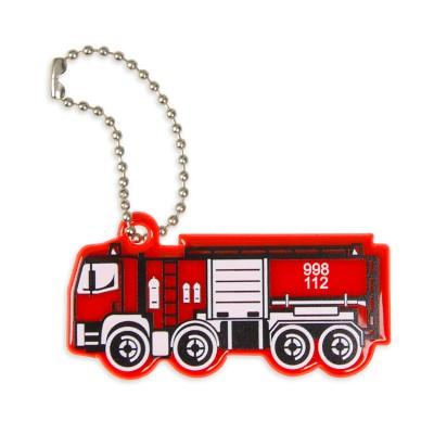Zawieszka odblaskowa - wóz strażacki