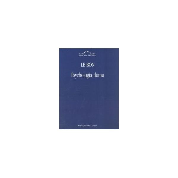 książka Psychologia tłumu