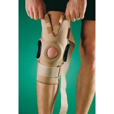 Stabilizator kolana z zegarem policentrycznym