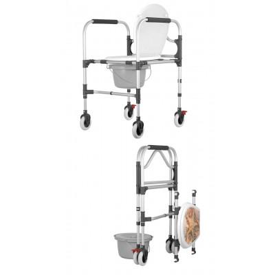 Krzesło sanitarne na kółkach KS/MR.SK.4K