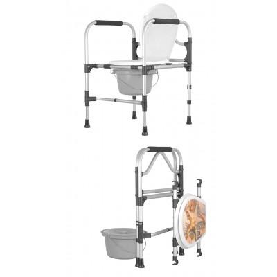 Krzesło sanitarne składane KS/MR/SK