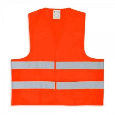 Kamizelka ostrzegawcza dla dorosłych - pomarańczowa XXXL