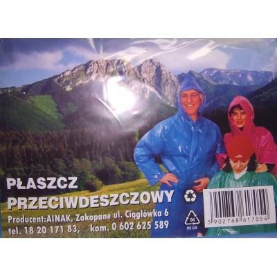 Płaszcz przeciwdeszczowy dla dorosłyych